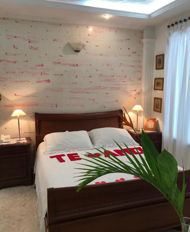 elegante suite graciela romántica en san cristóbal