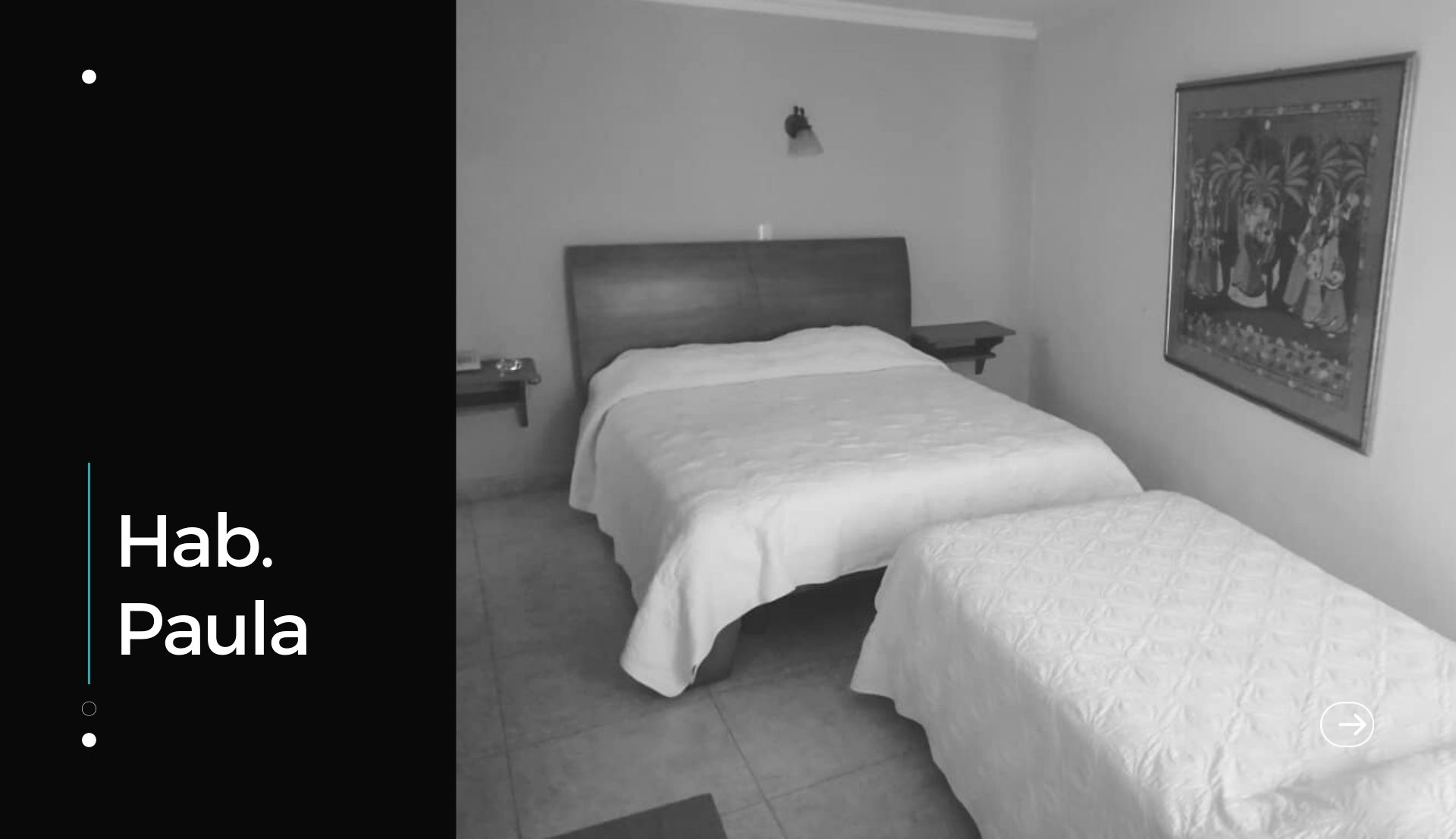 habitacion familiar y para adultos mayores. paula